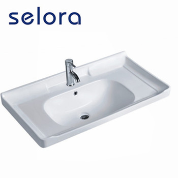 best-selling single hole in the side toilet wash  counter basin series