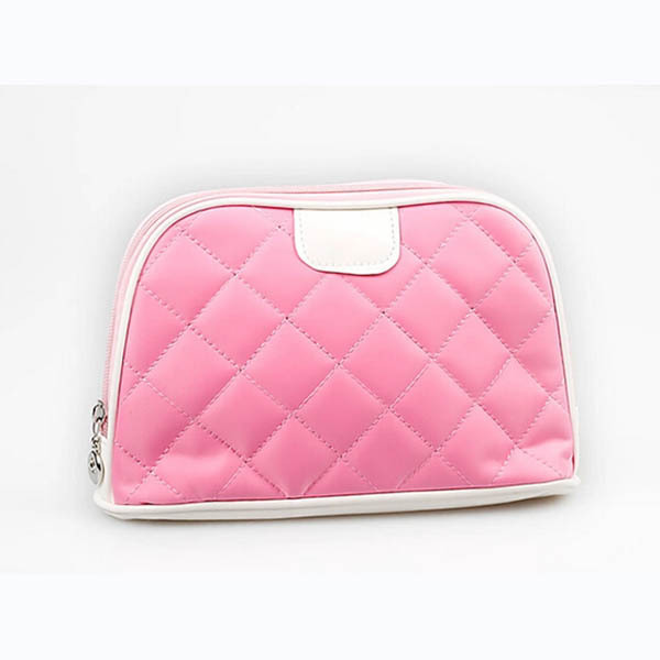 Get Quotations China Manufacture Candy Color Bags Nylon Pink Cosmetic Bag