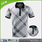 Unique design colar dri fit cotton pique mens polo shirt
