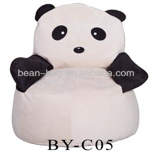 cute children bean bag chair panda bean bag chair