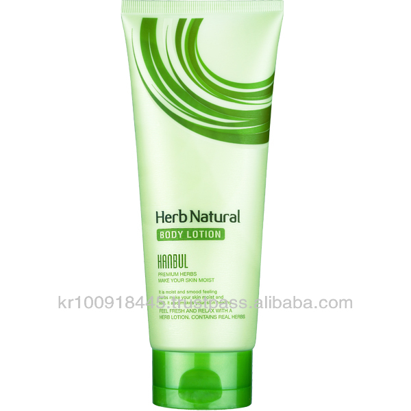 Herb natural body lotion from Korea
