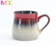 US market wholesale promotion gift high quality stoneware reactive glaze ceramic coffee tea mug 16OZ