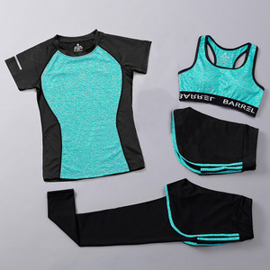 Wholesale Yoga Activewear Women's Suits Sexy Gym Clothes Sets Sport Suits