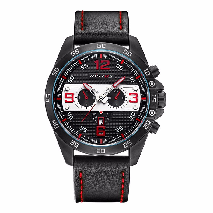 Ristos newest multifuntional quartz sport watches for men women with custom logo