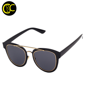 Fashion NEW Cat Eye Sunglasses Women Brand Designer Vintage Metal Frame Coating Sun Glasses Oculos De Sol Feminin CC0516