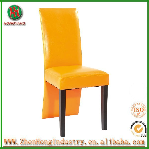 Modern high back wooden pu dining chair,leather dining chair ,fabric dining chair OEM ANJI
