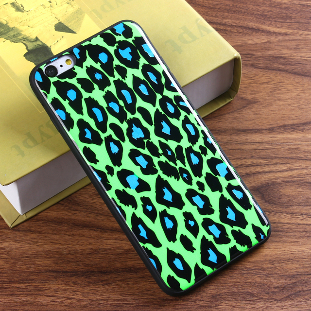 One cent sample latest new design soft TPU leopard phone case mobile phone shell mobile accessories for iPhone 6 / 6 plus