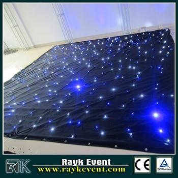sterrenhemel plafondlamp led glasvezel verlichting kit led ster gordijn led ster doek