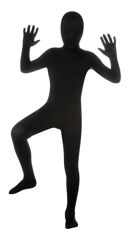 fdf6e46dec1c Get Quotations · Kids 2nd Skin Black Body Suit