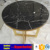 Nero marquino black marble table top for coffee table