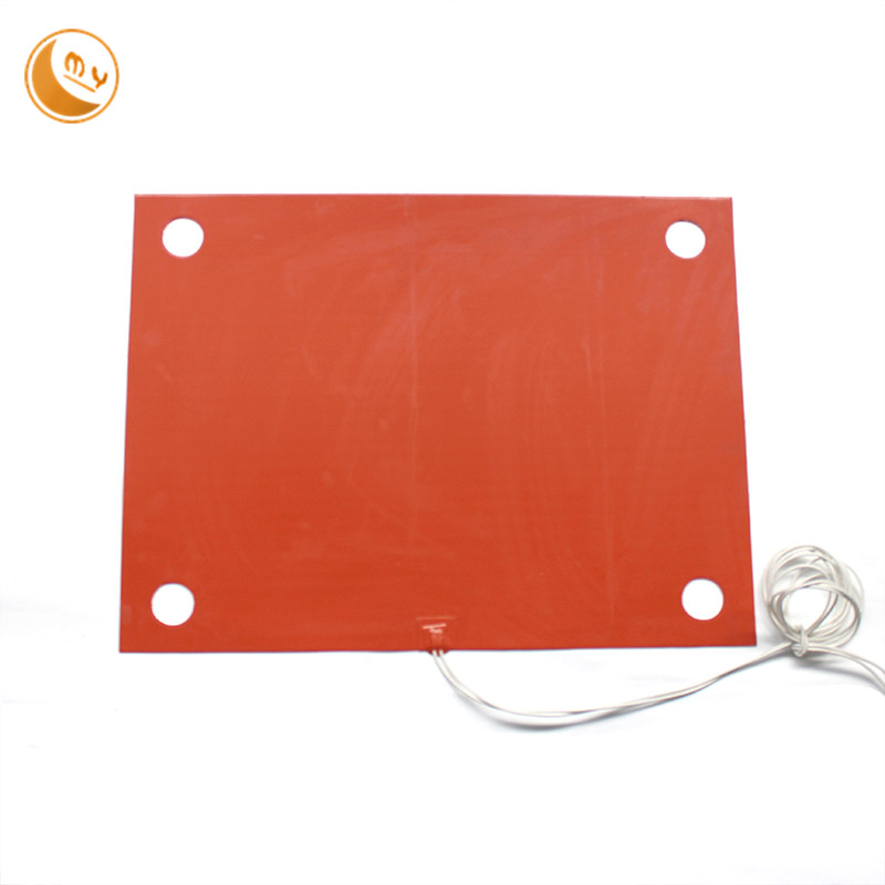 Heating preservation waterproof silicone heater pad 300 x400
