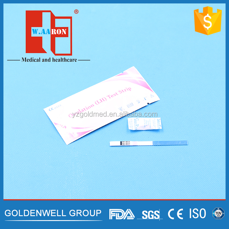 High accuracy one step lh ovulation test strip