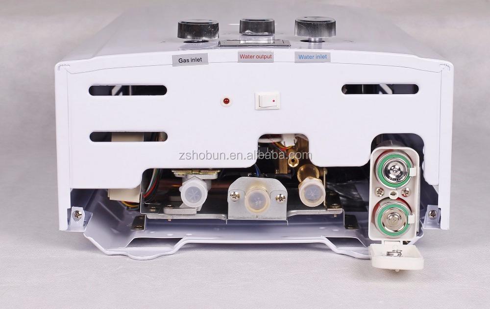 טוב מאוד 10L מיידי מחיר נמוך מחמם מים בגז לאמבטיה-מחממי מים גז-מספר זיהוי UU-25