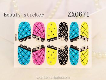 Japanese Nail Art Supplies Nail Henna Beauty Nail Sticker Buy