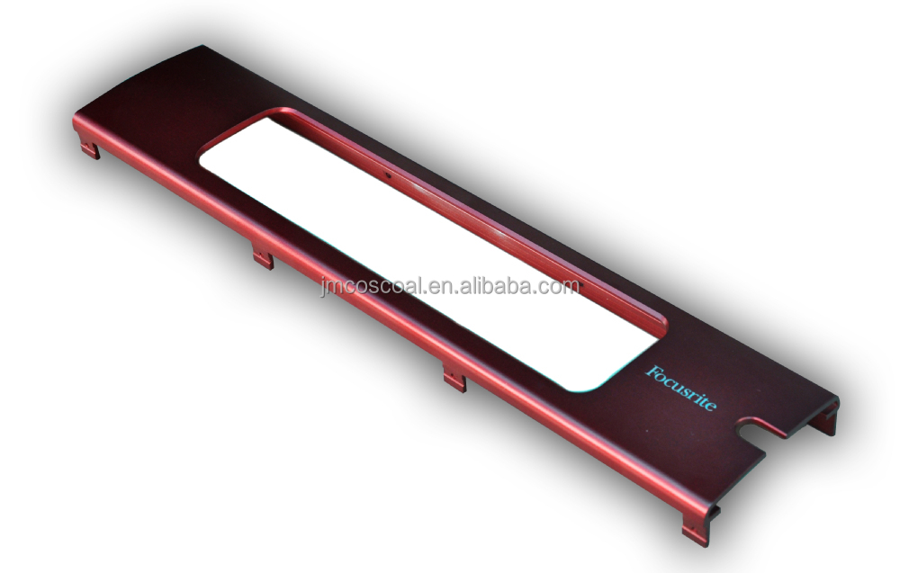 Aluminium Extrusion Profile Faceplate