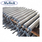 Custom Belt Conveyor Roller Hot Forging Steel And Machining