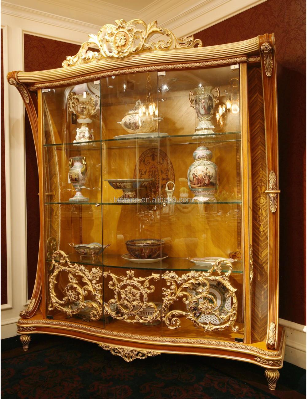 BISINI Italiaanse Elegante Barokke Marquetry Eetkamer Meubels ...