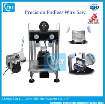 Laboratory Compact Precision Diamond Wire Saw/lab Used Small Wire ...