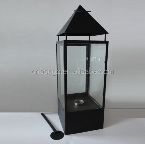 outdoor metalen doos bio alcohol open haard met een sterke 3mm glas