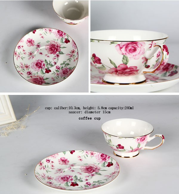 Alibaba Best Er New Product Coffee Cups Tea Cup Sets Whole Bulk And Saucer
