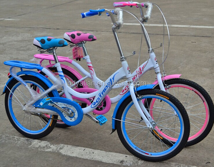 female students 20 inch colorful bicycle
