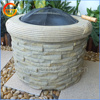 Hot selling MGO, fiber clay fire pit outdoor