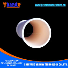 VHANDY oem type alumina ceramic tube type pipe with glazing