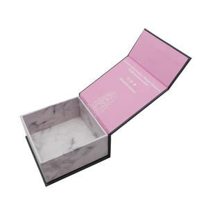 Free sample marble printing paper cardboard boxes packaging for gift boxes