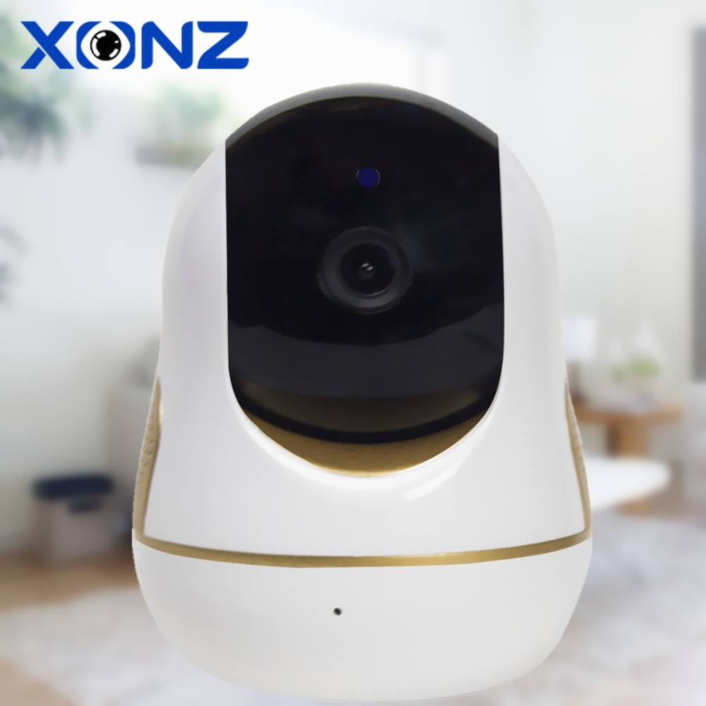 Wired & WiFi Smart home IP camera configured via app smart watch baby monitor video camera with sounds