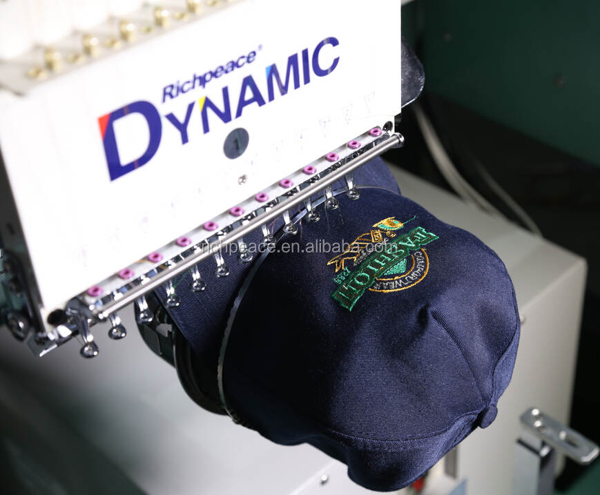 richpeace cap/tubular embroidery machine