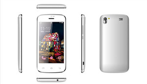 DG-A309W on sale 3.97 inch android phone ,Android4.2.2 800*480 3G dual sim card CE&ROHS