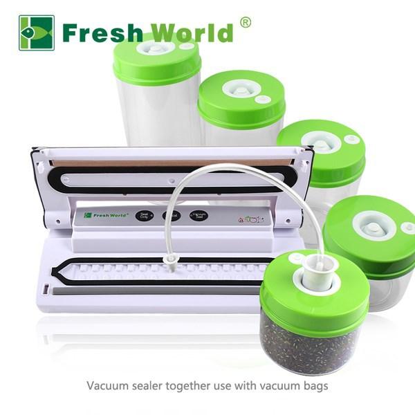 Vacuum Food Storage Container Pump Plastic Airtight Canister