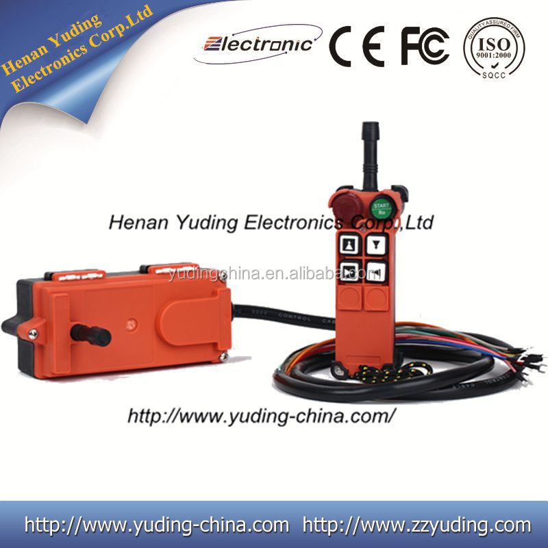 Factory supply F21-4D transmitter and receiver, CE FCC approval, programmable remote control