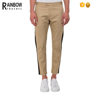 2017 New Look Casual Mens Cotton Summer Long Slim Fit Trousers