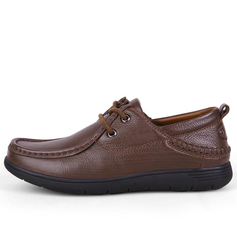 leather shoes casual leather men flats men Cow 7wdqUvv