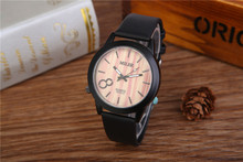 Best Selling Wholesale China Watches Corporate Gifts Leather Clock Ladies Women Quartz Wristwatch A8312-5