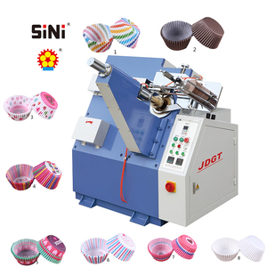 SINI JDGT 930 Best selling Automatic Paper Cake Tray Forming Machine Paper Cup Cake Machine
