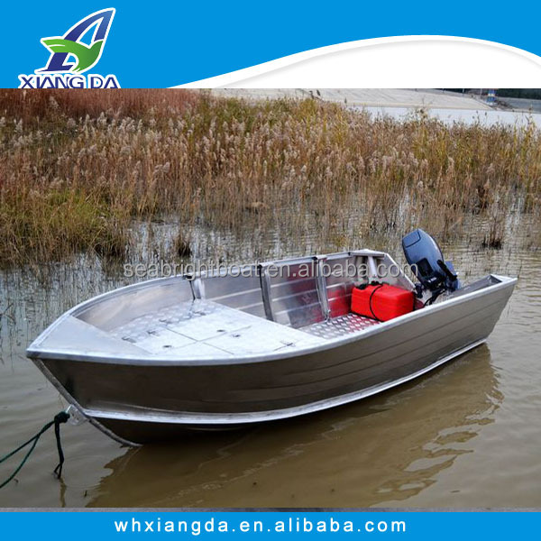 Fast Speed Aluminium Center Console Patrol Boats Motor Outboard ...