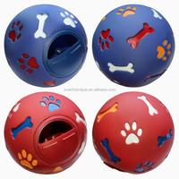 New 7.5CM feeding ball, cat treat ball, pet snack ball