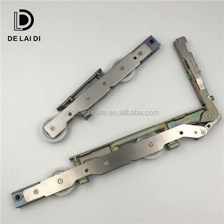 Fittings accessory system of lift and slide patio door