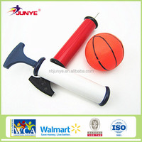 sports equipment basketball use 10 inch ball pump hose needle ball pumpers