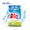 Customized lemon fragrance launtry washing detergent powder 500g/1kg with low price