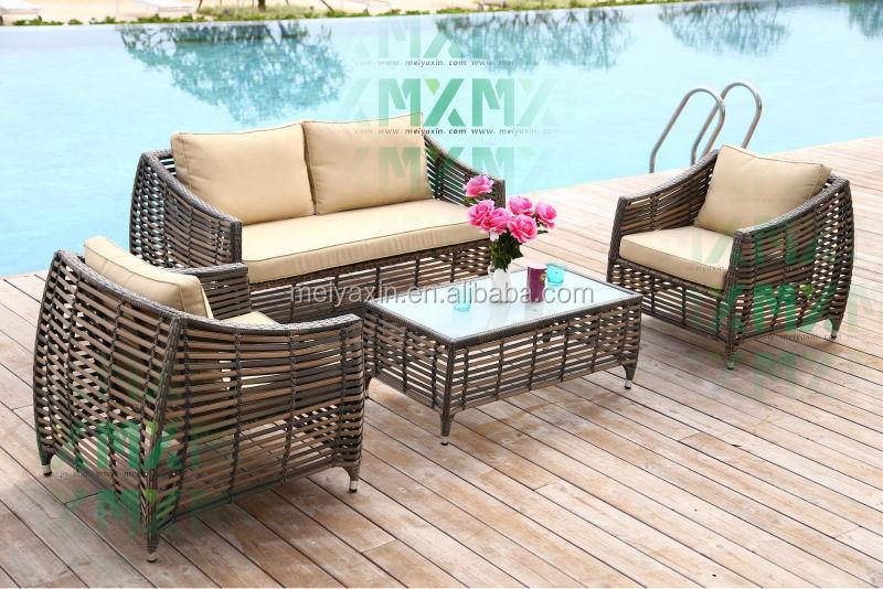 venta caliente all weather sofa de exterior muebles de jardn de plstico barato de la armadura