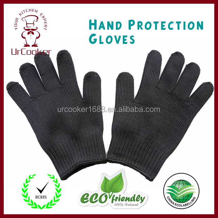 5 level to strengthen the anti cutting gloves,Hand Protection Gloves,Wear resistant stainless steel wire gloves