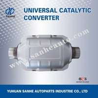 Universal Automobile Part Exhaust Pipe Type Exhaust System Catalytic Converter