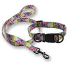 Pet Dog Products Supplies Dog Accessories Nylon Dog Collar And Leash,Wholesale Custom Leash Collar