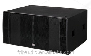 "Powerful Pa Speaker 18"" Subwoofer Speaker Box"