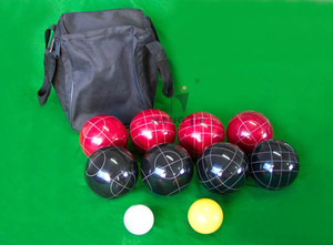 Adult Outdoor Games 90MM Resin Bocce Ball Set