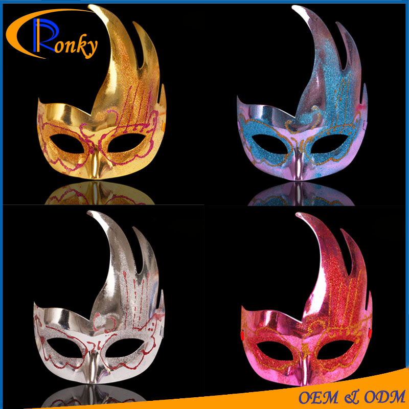Funky party wear cheap plastic custom halloween mask of venice