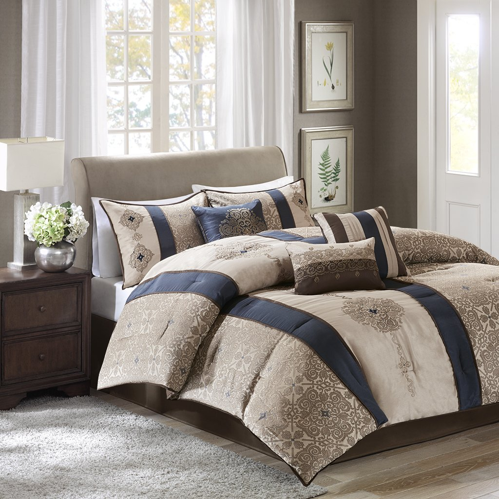 Asian pattern king comforter sets — pic 12